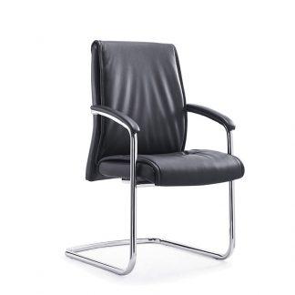 Black high-density foam Alpha office chair