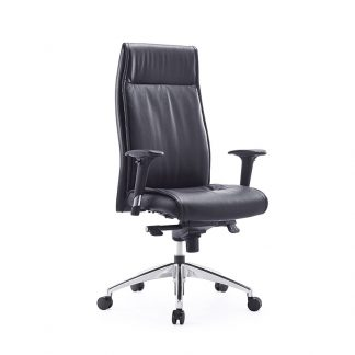 Office leather chair with a high-quality gas lift by Alpha Sri Lanka