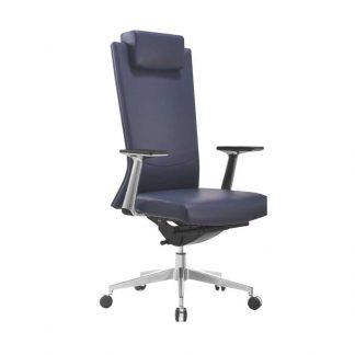 Black Alpha high-density foam office chair