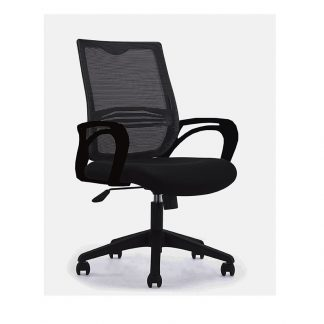 Single seater chair with aluminium base. Seating, backrest and armrest upholstered with fabric by Alpha Industries