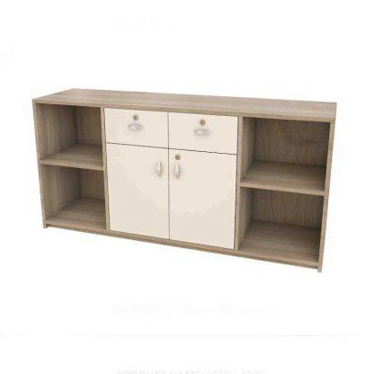 Scratch-resistant office cupboard-Alpha Industries