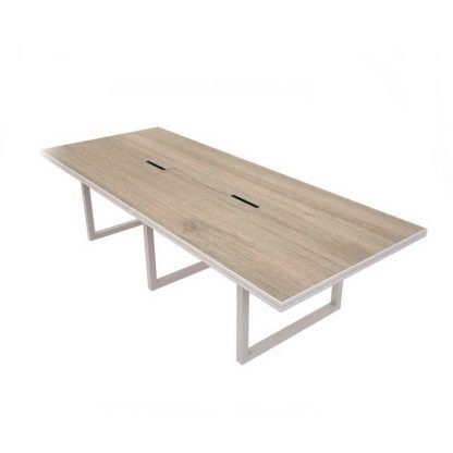 Scratch-resistant wooden office table by Alpha
