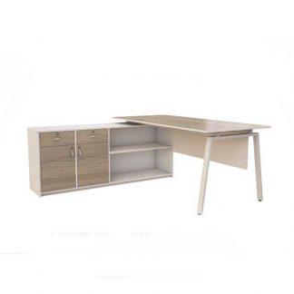 Melamine board DIR office table from Alpha Industries