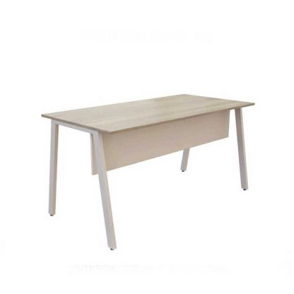 Light wooden office table by Alpha Industries