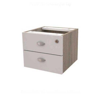 2 drawer wood-based office furniture by Alpha Sri Lanka
