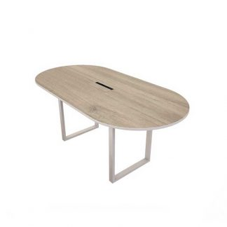 Scratch resistance & wooden Alpha meeting table