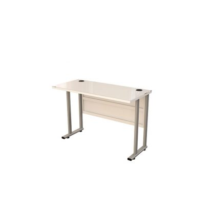 Sahara staff table with an inbuilt glass by Alpha Industries