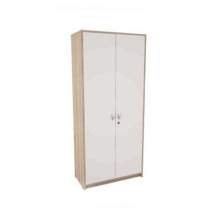 Beige Ergonomic office cupboard with a powder-coated steel base by Alpha