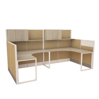 Buy two cluster office workstation from Alpha Sri Lanka