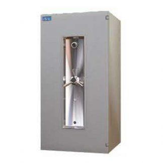 Large lock burglar-resistant Alpha bank safe