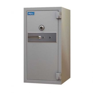 Large fire-resistant bank safe by Alpha Industries