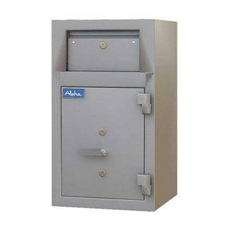 Secure metal drop safe by Alpha Sri Lanka