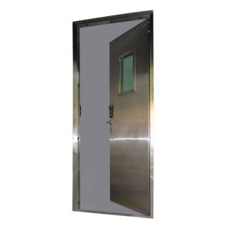 Zinc coated bulletproof door by Alpha