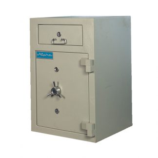 Cash safe by Alpha Industries with 2 key locks