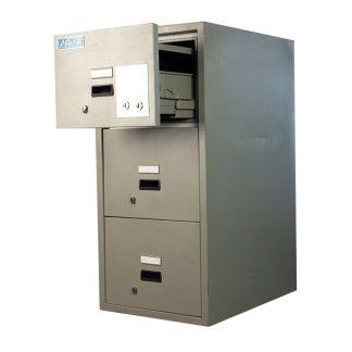Fire-resistant 3 drawer filing cabinet by Alpha Sri Lanka