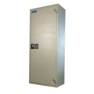 Fire-resistant cupboard with two locks by Alpha Industries