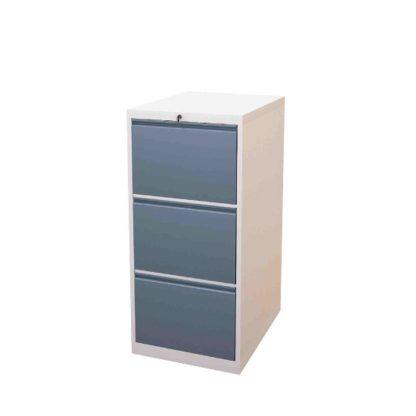 Sahara Filing Cabinet with 3 drawers and heavy-duty railings by Alpha Sri Lanka